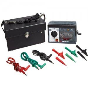 megger-212359-mj359-major-megger-line-hand-cranked-insulation-resistance-tester-100-250-500-1000-v-2-gohms
